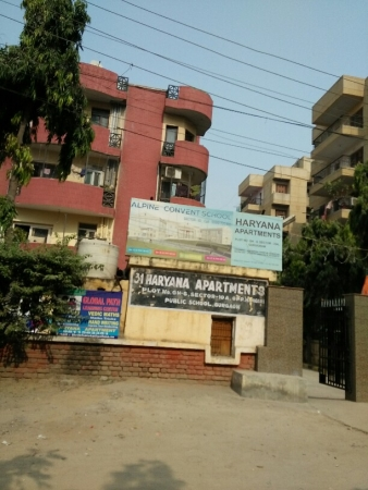 3 BHK Apartment for Rent in Haryana Apartments - Exterior View