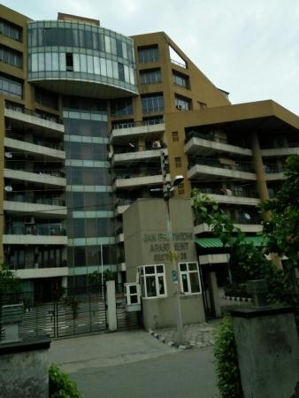 3 BHK Apartment for Rent in Jan Pratinidhi Apartments - Exterior View