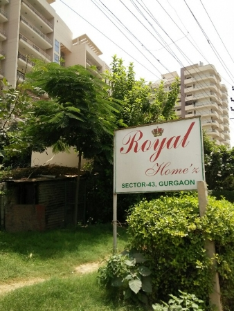 3 BHK Apartment for Rent in Royal Homez - Exterior View