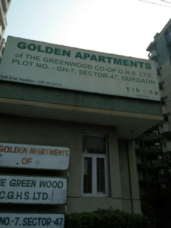 3 BHK Apartment for Rent in Golden Apartment - Exterior View
