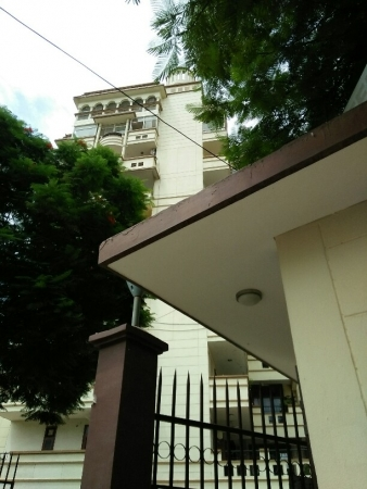 3 BHK Apartment for Sale in Sheeba Apartment - Exterior View