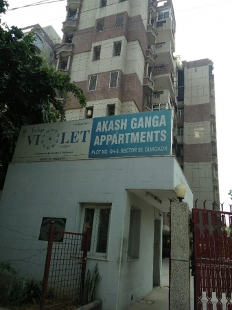3 BHK Apartment for Sale in Akash Ganga Apartment - Exterior View