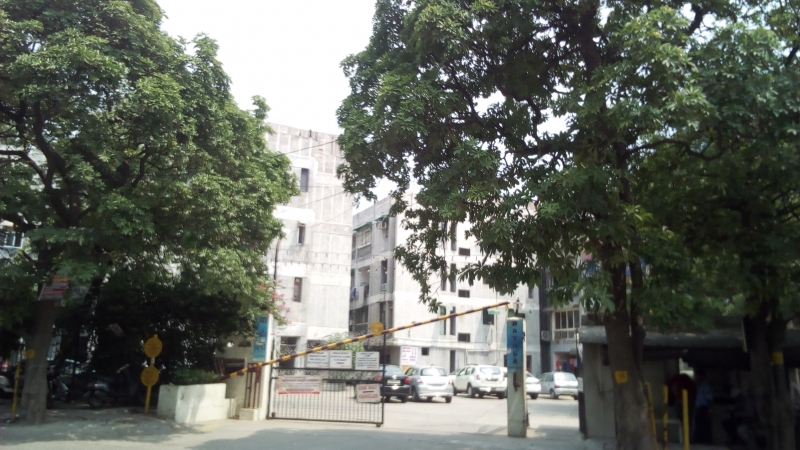 2 BHK Apartment for Rent in Bathalla Apartments - Exterior View