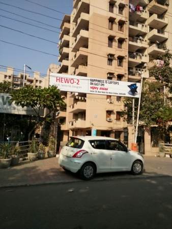 3 BHK Apartment for Rent in Hewo Apartments II - Exterior View