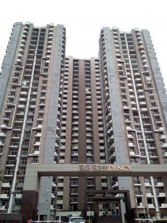 2 BHK Apartment for Rent in RG Residency - Exterior View