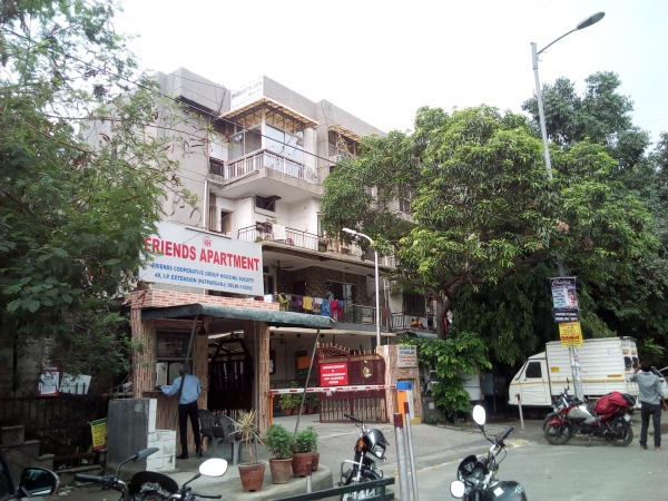 2 BHK Apartment for Sale in Friends Apartment - Exterior View