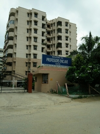 3 BHK Apartment for Sale in Professors Enclave CGHS - Exterior View