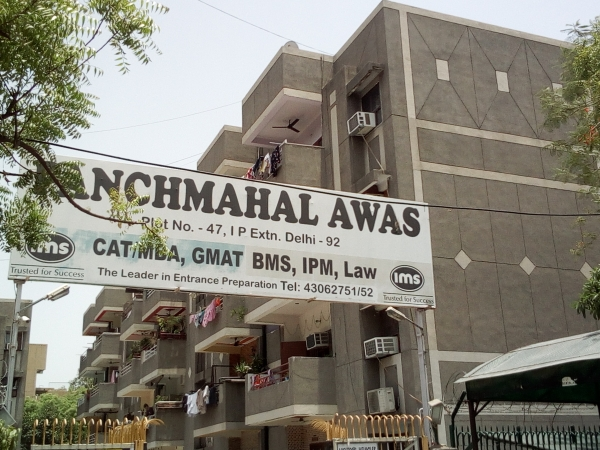 2 BHK Apartment for Rent in Panchmahal Awas - Exterior View