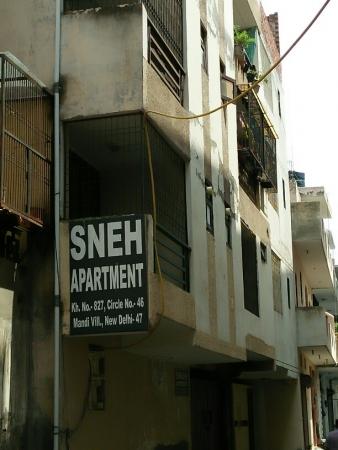 3 BHK Apartment for Rent in Mandi New Delhi - Exterior View