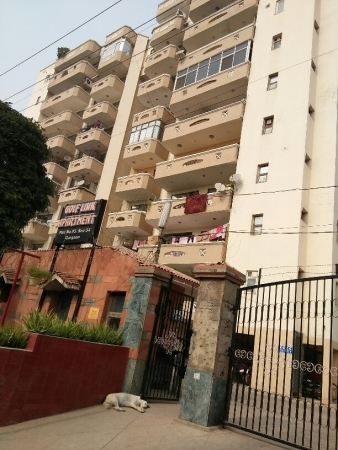 3 BHK Apartment for Sale in Golf Link Apartments - Exterior View