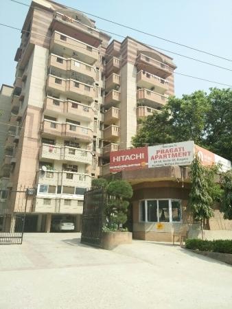 3 BHK Apartment for Sale in Pragati Appartment - Exterior View