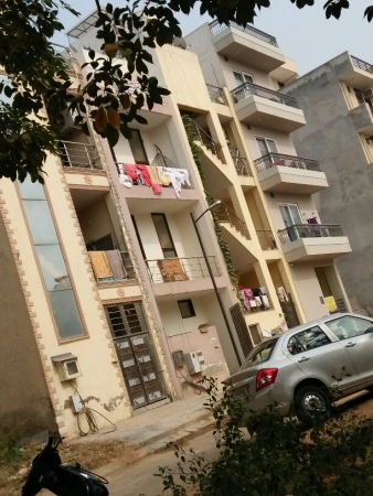 1 BHK Floor for Rent in Suncity Township - Exterior View