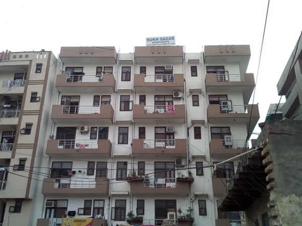 2 BHK Apartment for Rent in MGC Sukh Sagar Apartments - Exterior View