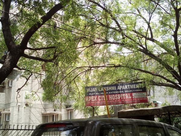 2 BHK Apartment for Sale in Vijay Lakshmi Apartment - Exterior View
