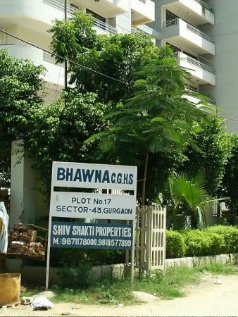 3 BHK Apartment for Rent in Bhawna Apartments - Exterior View