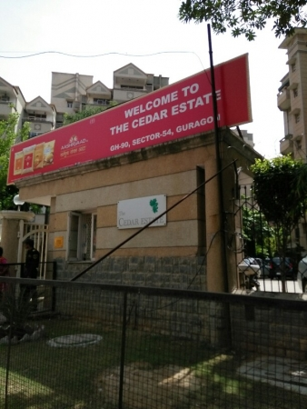 3 BHK Apartment for Rent in The Cedar Estate - Exterior View