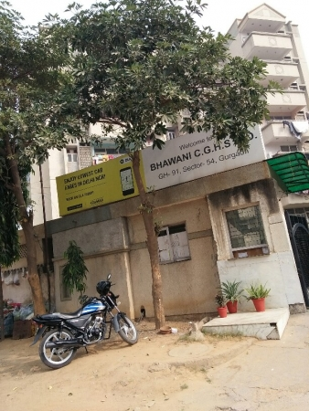 3 BHK Apartment for Rent in Bhawani Apartments - Exterior View