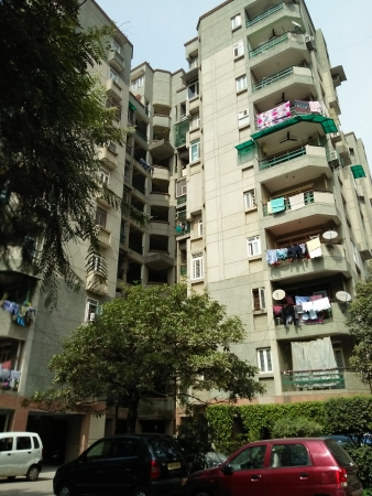 2 BHK Apartment for Rent in Kendriya Vihar - Exterior View