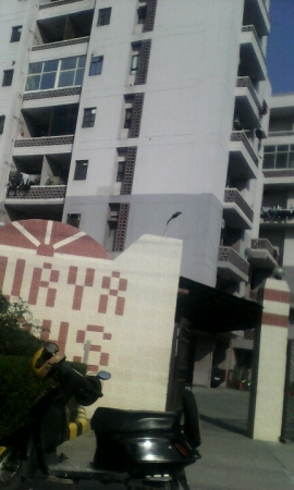 3 BHK Apartment for Sale in Surya CGHS - Exterior View