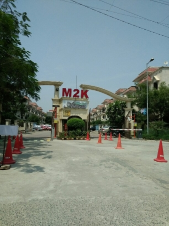 3 BHK Floor for Sale in M2K Aura - Exterior View