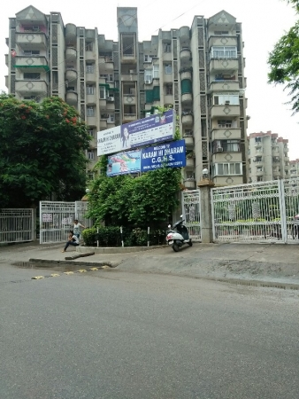 3 BHK Apartment for Sale in Karam Hi Dharam CGHS - Exterior View