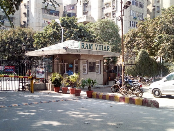 3 BHK Apartment for Rent in RWCA Ram Vihar - Exterior View