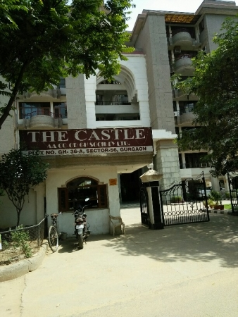 3 BHK Apartment for Rent in The Castle Society - Exterior View