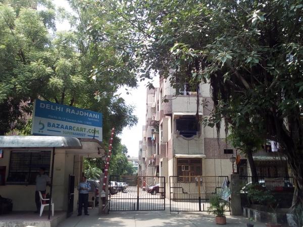 2 BHK Apartment for Sale in Delhi Rajdhani Apartments - Exterior View
