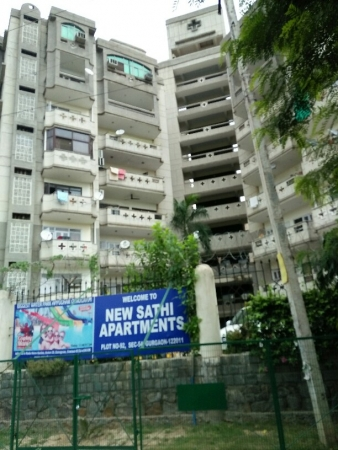 3 BHK Apartment for Rent in New Sathi Apartments - Exterior View