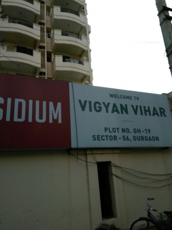 3 BHK Apartment for Rent in Rudra Vigyan Vihar - Exterior View