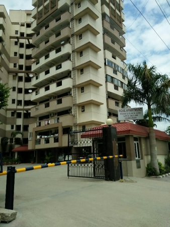 3 BHK Apartment for Rent in Rose Apartment - Exterior View