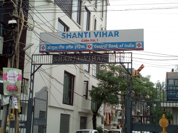 2 BHK Apartment for Rent in Shanti Vihar - Exterior View