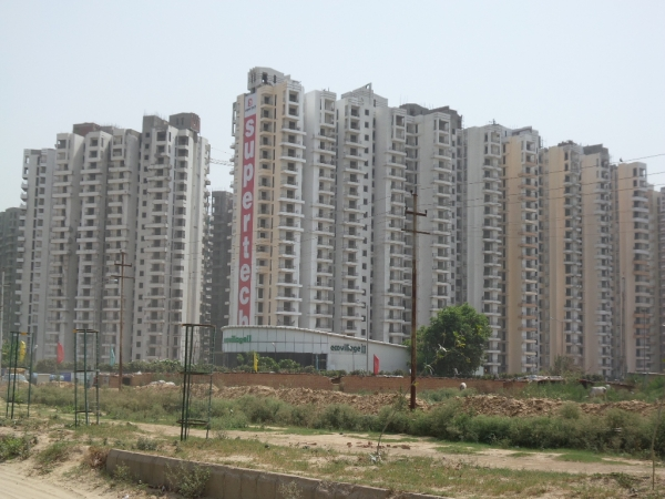 2 BHK Apartment for Sale in Supertech Eco Village 2 - Exterior View