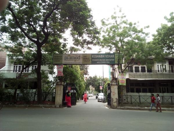 2 BHK Apartment for Rent in Rishabh Vihar RWA - Exterior View