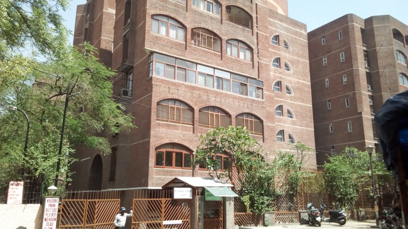 2 BHK Apartment for Rent in IFS Apartments - Exterior View