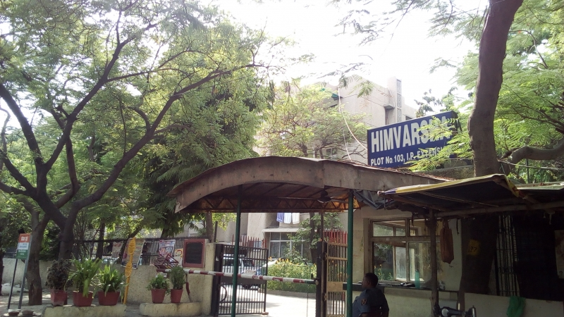 2 BHK Apartment for Rent in Himvarsha Apartment - Exterior View