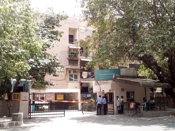 2 BHK Apartment for Sale in Brothers Apartments - Exterior View