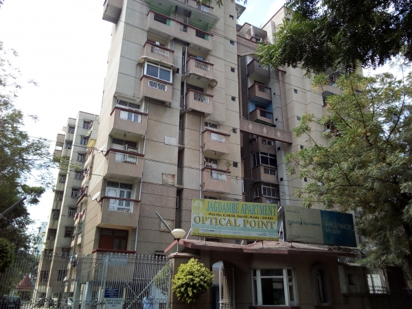 2 BHK Apartment for Rent in Rudra Jagdambe Apartments - Exterior View
