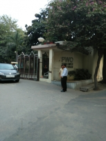 3 BHK Apartment for Rent in HUDA PWO Housing Complex - Exterior View