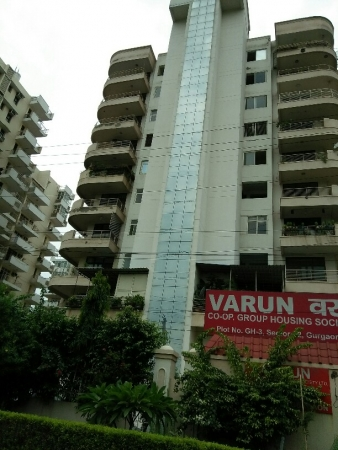 3 BHK Apartment for Rent in Varun Group Housing Society - Exterior View