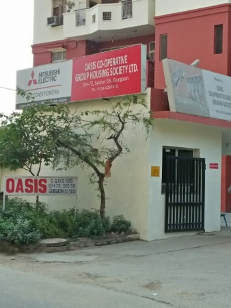 3 BHK Apartment for Sale in Oasis Apartment - Exterior View