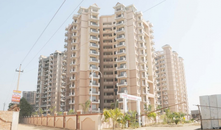 2 BHK Apartment for Sale in SRS Residency - Exterior View