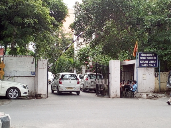 2 BHK Apartment for Sale in Kiran Vihar New Delhi - Exterior View