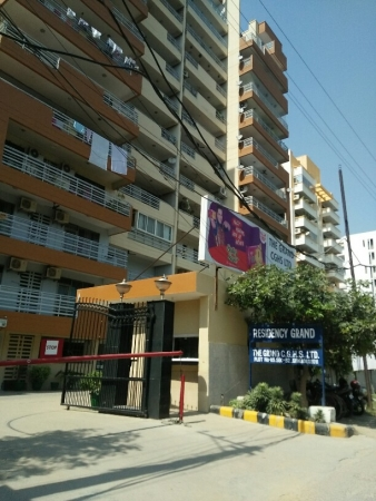 3 BHK Apartment for Rent in Residency Grand - Exterior View