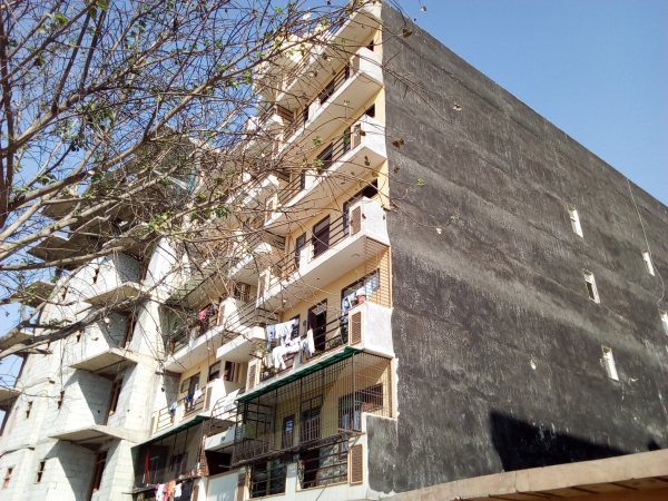 2 BHK Apartment for Rent in AKH Royal Apartment - Exterior View