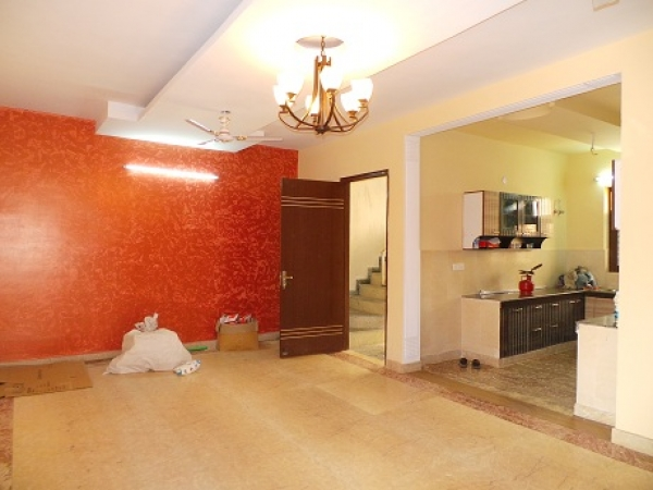 3 BHK Apartment for Rent in Saffron Kanishka Tower - Living Room