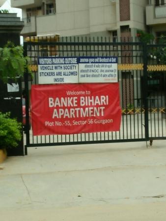 3 BHK Apartment for Rent in Shri Banke Bihari Society - Exterior View