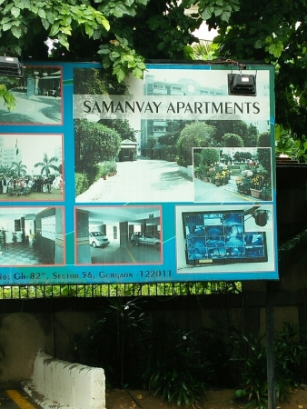 3 BHK Apartment for Rent in Samanvay Apartment - Exterior View