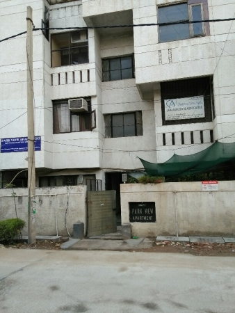 3 BHK Apartment for Rent in Nidhi Park View Apartments - Exterior View