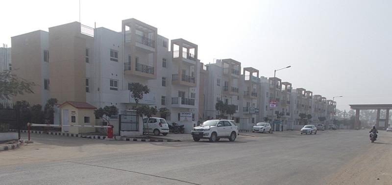 4 BHK Apartment for Rent in Park Elite Floor II - Exterior View